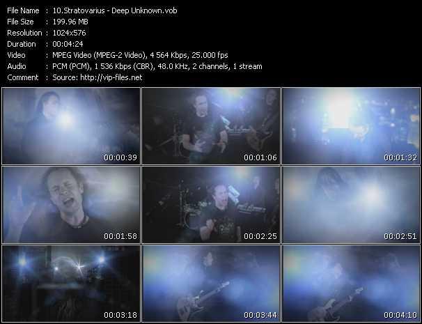 Stratovarius - Deep Unknown