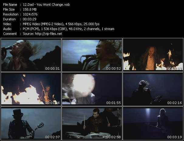 D-A-D (D.A.D.) - You Won't Change