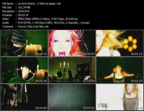 Arch Enemy - I Will Live Again
