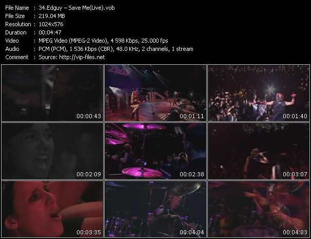 Edguy - Save Me (Live)