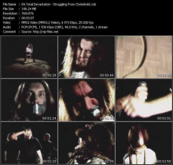 Total Devastation - Struggling From Chokehold