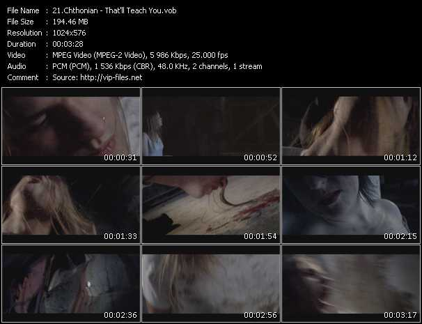 Chthonian - That'll Teach You