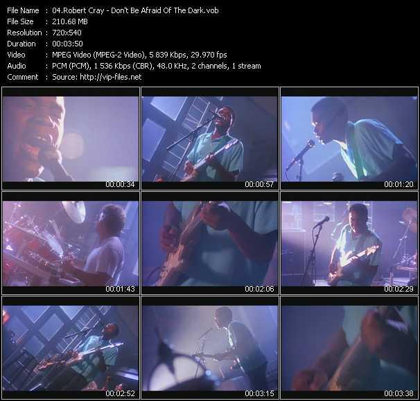 Robert Cray (Robert Cray Band) - Don't Be Afraid Of The Dark