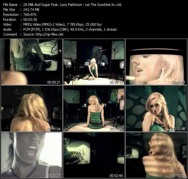 Milk And Sugar Feat. Lizzy Pattinson - Let The Sun Shine
