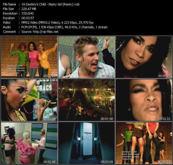 Destiny's Child - Nasty Girl (Remix)