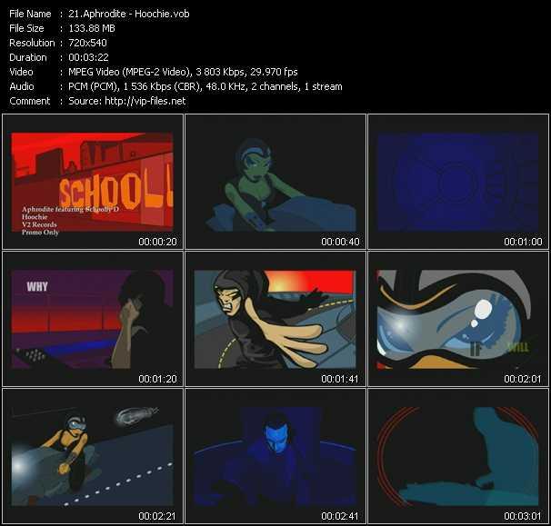 Aphrodite Feat. Schooly D - Hoochie