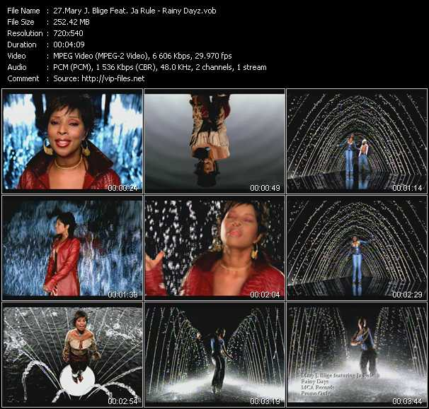 Mary J. Blige Feat. Ja Rule - Rainy Dayz