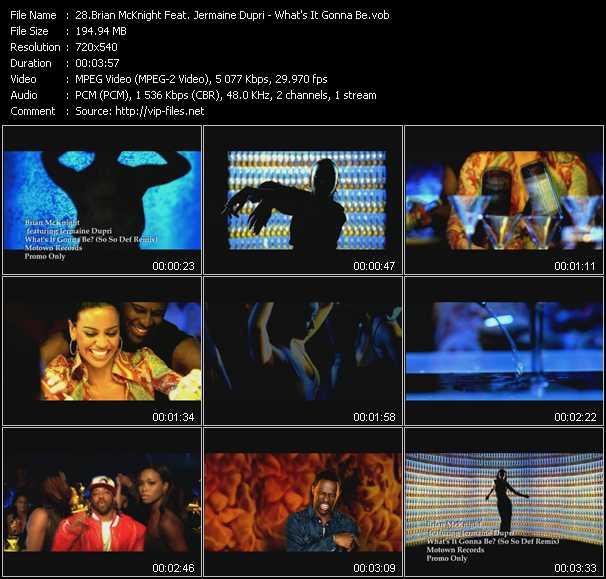 Brian McKnight Feat. Jermaine Dupri - What's It Gonna Be