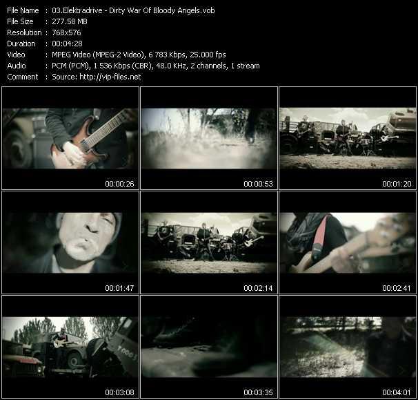 Elektradrive - Dirty War Of Bloody Angels