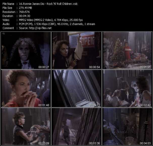 Dio (Ronnie James Dio) - Rock 'N' Roll Children