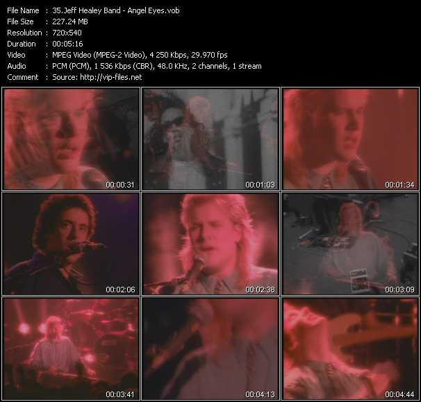 Jeff Healey Band - Angel Eyes